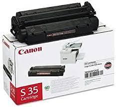 Dual full yield cartridge, 10,000 sheets iso/iec. Amazon Com Canon 7833a001aa Canon S35 Laser Toner Cartridge Black Works For Faxphone L170 Imageclass D320 Imageclass D340 Imageclass D360 Office Products