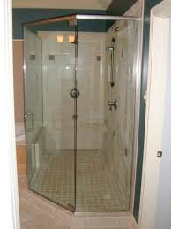 frameless euro shower doors with header