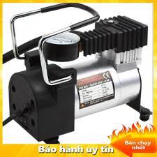 Bơm lốp ô tô mini toyota - máy nén khí, bơm lốp ô tô , bơm xe máy , bơm hơi  ô tô xe máy bản 1 xi lanh công suất lớn -