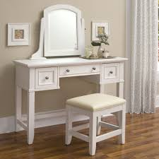 vanity desk mirror with lights glass top fantastic dressing table three drawers square tapered legs