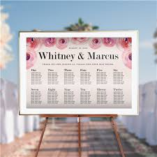 Seating Charts Wedding Birthday Party Or Classroom