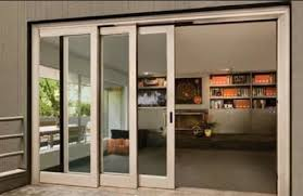In this type, with the help of runners and guide rails the door slides to  the sides. The door may have one or more sliding shutter depending up on  the ...