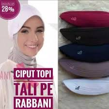 Tutorial hijab segi empat dengan ciput topi. Jual Ciput Topi Rabbani Ori Putih Jakarta Barat Endridwirahayu Tokopedia