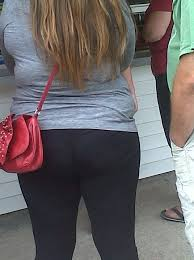 Big ass in tight dress pants