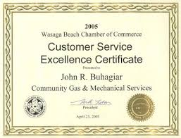 customer service award template 27 images of excellent customer service certificate template