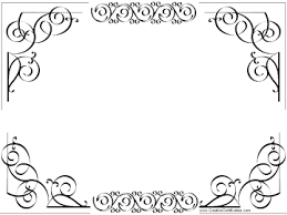 Certificate Outline Free Printable And Editable Certificate Border Instant