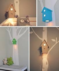 kids room cute kids bedroom lighting. 20 DIY Adorable Ideas For Kids Room Gorgeous Bird House Lamp Perfect Bedtime Cute Bedroom Lighting N