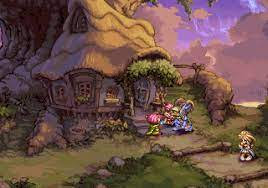 This is a playoff of the active time battle system found in games such as chrono trigger and the final fantasy series. Remember The Awesome Pixel Art Of The Playstation 1 Era Kakuchopurei Com