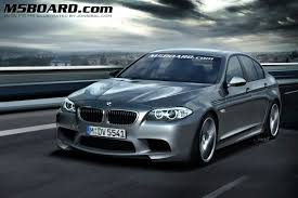 BMW M5 F10 Rendered Speculation Images
