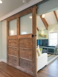 Diy Sliding Barn Door How To Build A Reclaimed Wood Sliding Door How Tos Diy