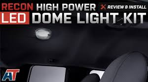F150 Led Dome Lights 2004 2014 F150 Recon High Power Led Dome Light Kit Review Install