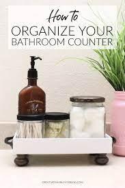 Get Organized With A Bathroom Tray Creative Ramblings