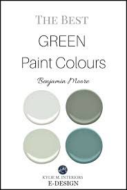 the best green and blue green paint colours by benjamin moore kylie m e
