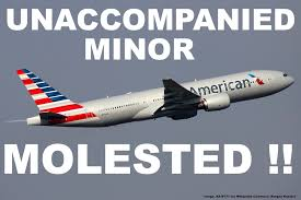alaska airlines guardian form american airlines 13 year old unaccompanied minor molested by man