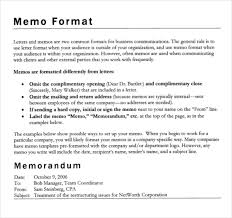 Business Memorandum Letter What Does A Proper Business Memo Look Like Dylanthereader Template
