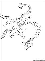 Kleurplaten Spiderman Van Kleurplaat Spiderman Masker Shshiinfo
