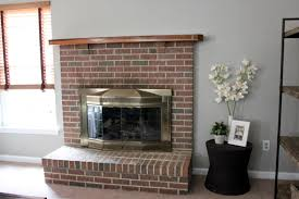 strawberry swing and other things fireplace update part 1 red brick fireplace makeover