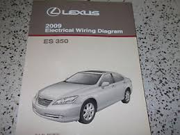 2009 lexus es350 es 350 electrical wiring diagram service shop image is loading 2009 lexus es350 es 350 electrical wiring diagram