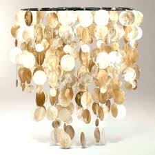 capiz shell gold chandelier lighting large photos pendant