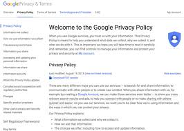 Tech company privacy policies don't cover everything they should.