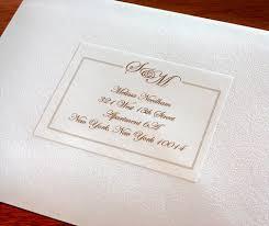 Invitation Address Labels Address Labels For Wedding Invitations