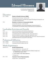 Resume Template For Open Office
