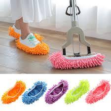New Dust Mop Slippers <b>Shoes</b> Floor Cleaner Clean Easy Bathroom ...