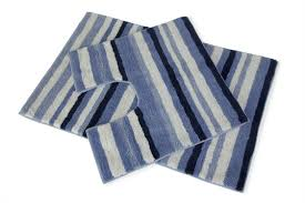 navy and white striped bathroom rug designs