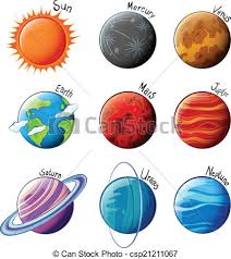 Image result for clip art planets