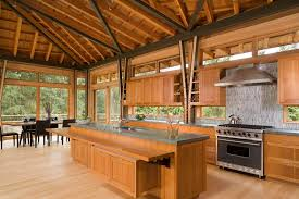 lighting for high ceiling. Great Room Lighting High Ceilings Kitchen Contemporary With Exposed Wood  Beams Gray Backsplash Large Windows For Ceiling