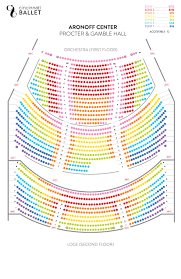 Aronoff Theater Seating Chart 2019