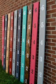 Etsy Height Chart Wooden Ruler Growth Chart Ready To Hang By Shopofsunshine On