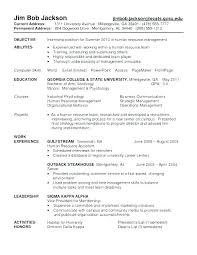 Objective In Resume For Job Psychology Resume Objective Resume ...