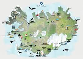 maps of iceland  guide to iceland