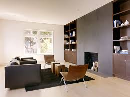 houzz fireplaces living room modern with bookshelves black and brown