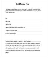 Free 8 Sample Photography Model Release Forms In Pdf Word