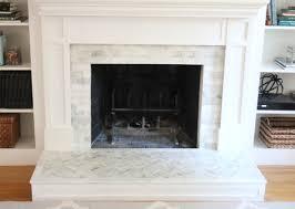 fireplace makeover tiling the surround shine your light rh shineyourlightblog com cover brick fireplace with tile red brick fireplace tiles