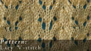 Knitted Lace Patterns Amazing Inspiration