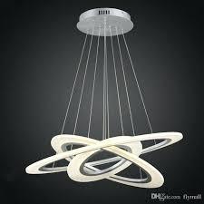 modern chandelier lighting luxury led circle lights for living room re white acrylic pendant lamp light design philippine