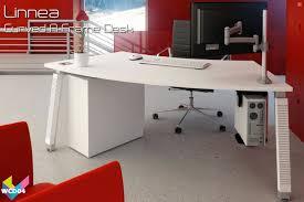 white corner desks 04 linnea curved desk