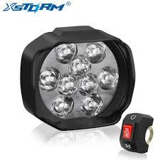 Universal Motorcycle Led Headlight Spotlight 27w 2500lm