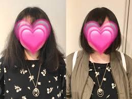 くせ毛で広がりがひどくショートにして髪を下ろすことが私の夢です