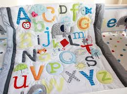 alphabet crib sheet baby quilts with elephants google search kids pinterest baby