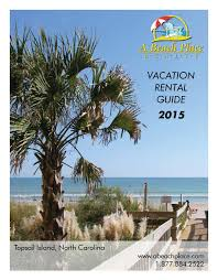 A Beach Place Realty 2015 By Targeted Marketing Issuu