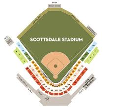 Camelback Seating Chart Seating Chart For Sf Giants At Scottsdale Stadium