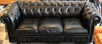 black leather tufted sofa. Blackeather Chesterfield Sofa Hollywood Regency Mid Century Vintage Sofablack Velvet For Saleblack Black Leather Tufted :