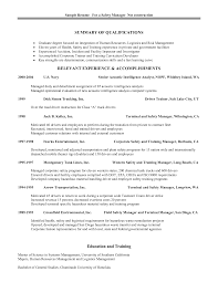 Safety Professional Resume Resume For Study