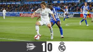 Alaves vs Real Madrid 1-0 – Highlights ...