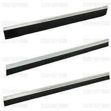 garage door brush strip draught excluder excluders seal aluminium white new