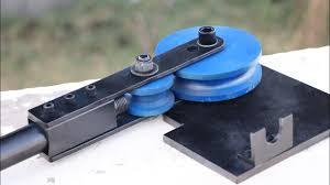 diy round pipe bending machine